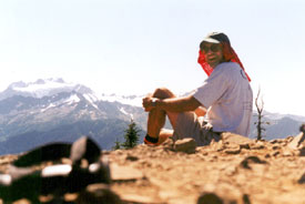 David in the Olympic Range